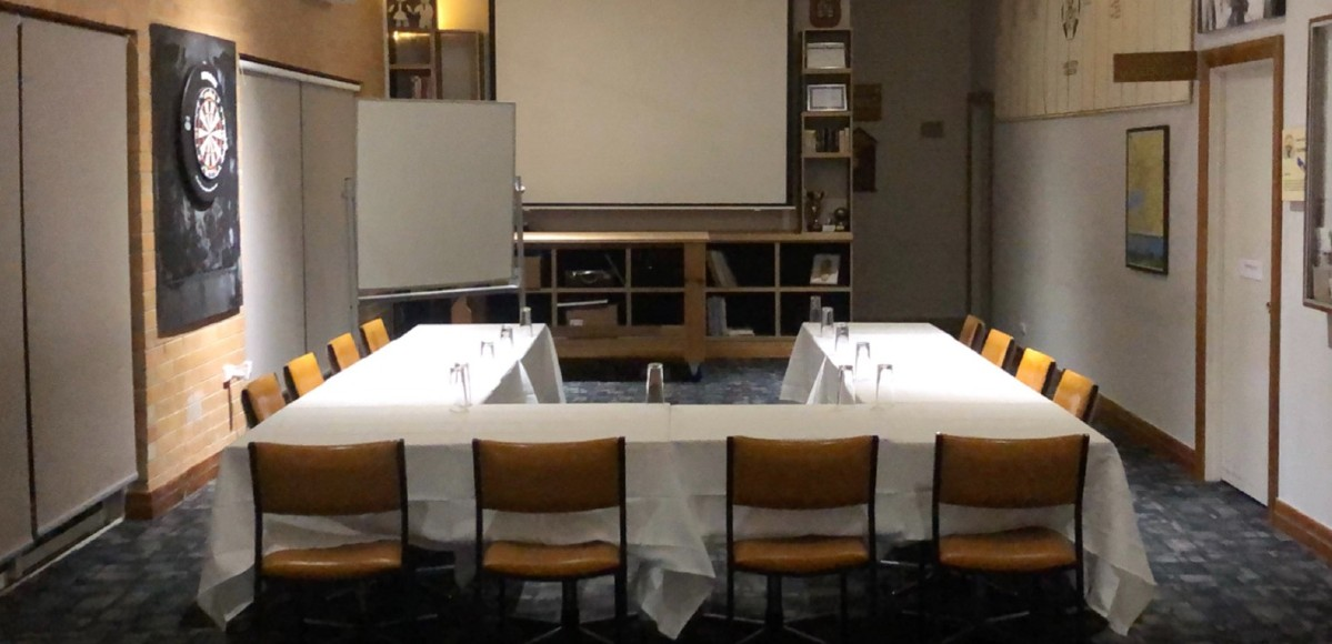 BBC Meeting Room Hire tables