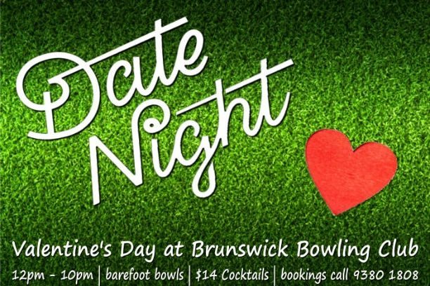 Spend Valentines Day at the Brunswick Bowls Club